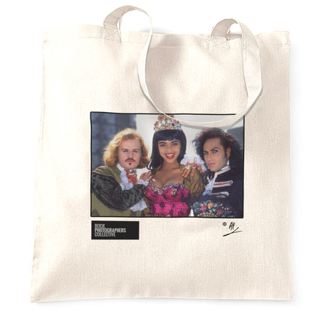 Army Of Lovers landscape shot, London. AP Tote Bag