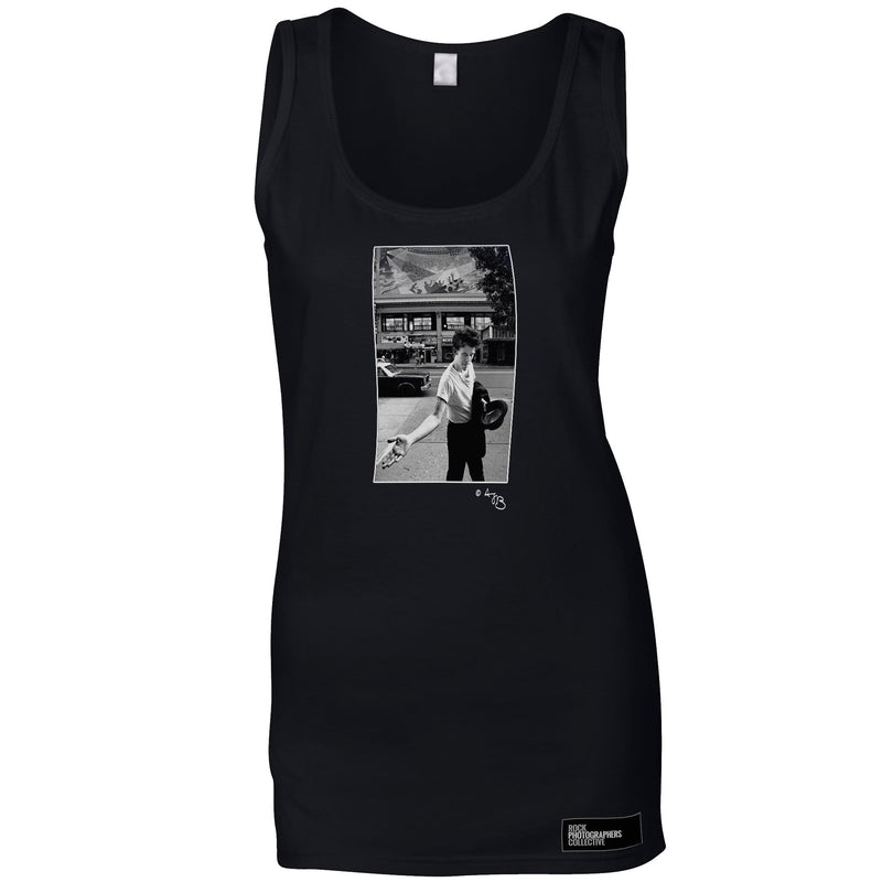 Tom Waits Women's Vest On The Street