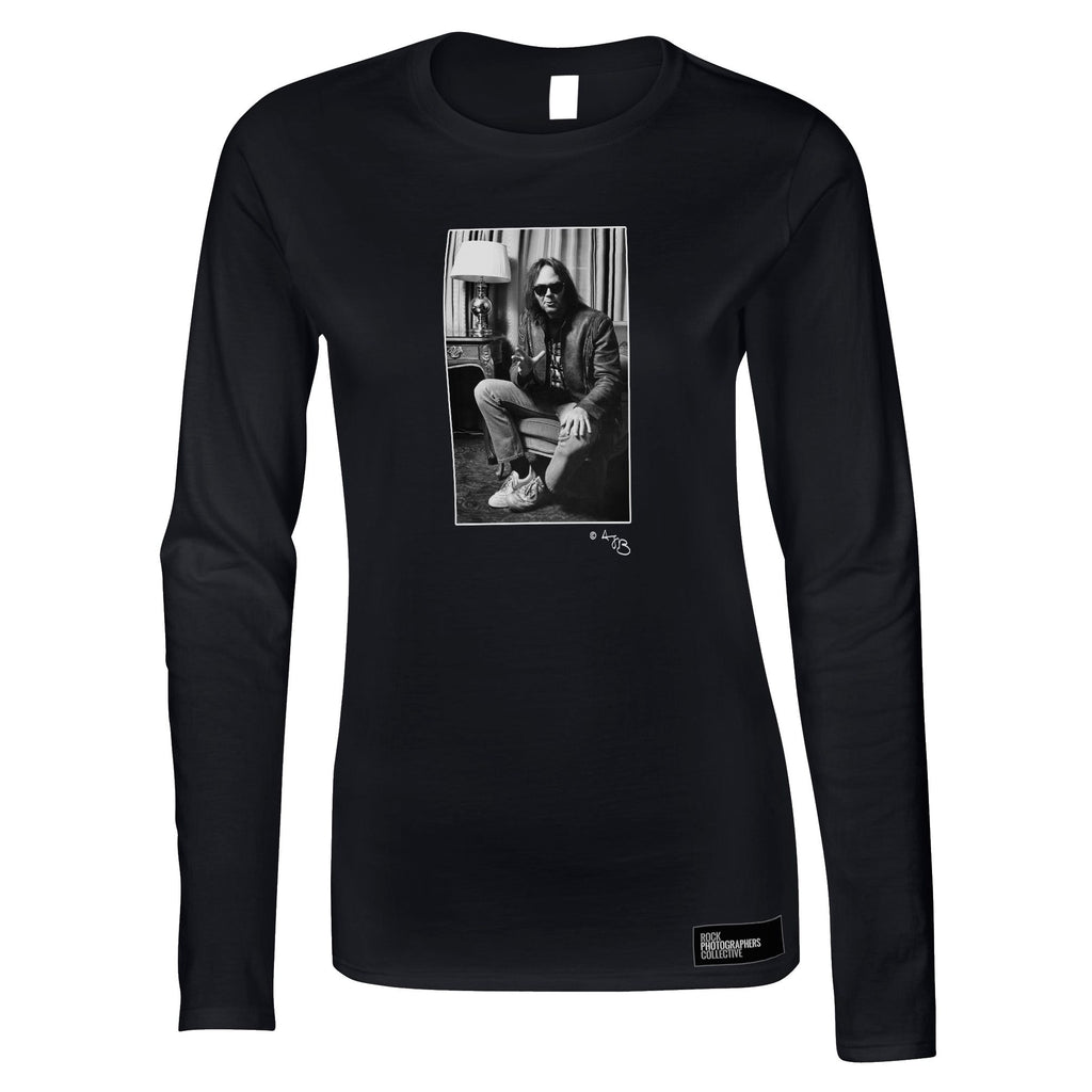 Neil Young Women's Long Sleeve