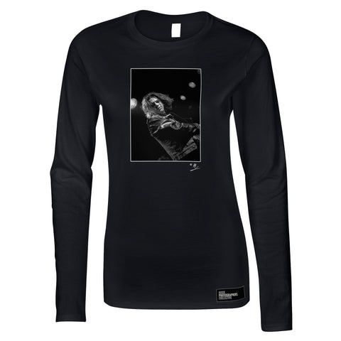 Michael Hutchence live (1) 1985 AP Women's Long Sleeve