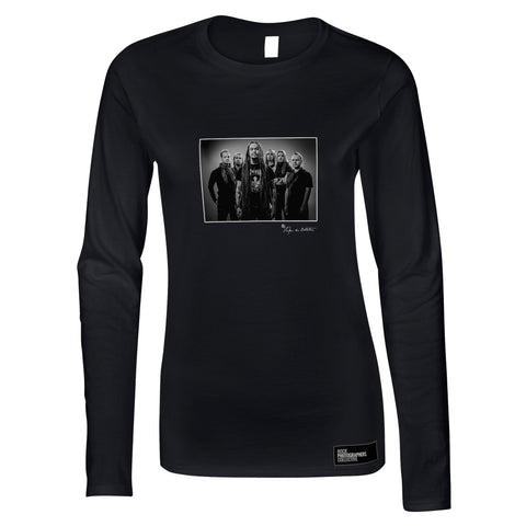 Amorphis, studio photo, Helsinki, 2011 (SdB) Women's Long Sleeve