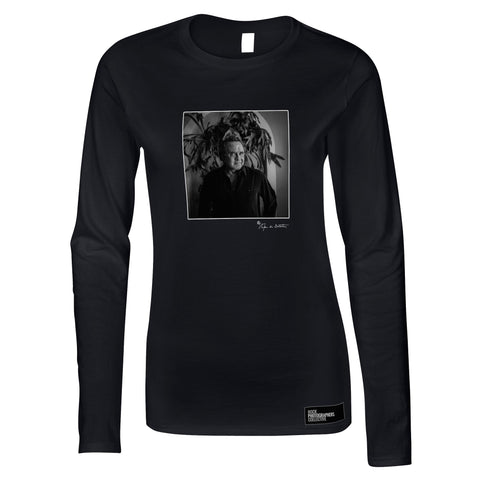 Johnny Cash, Los Angeles, 1996 (SdB) Women's Long Sleeve