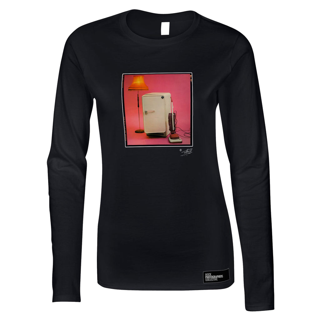 The Cure 'Three Imaginary Boys' Album Cover Women's Long Sleeve