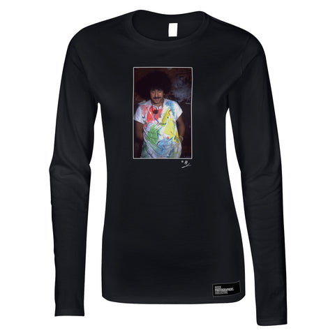 Phil Lynott - Thin Lizzy Portrait 1984 Women's Long Sleeve