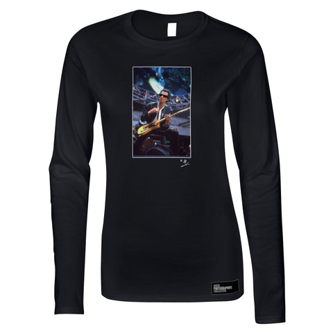 Keith Richards of The Rolling Stones, live Women's Long Sleeve