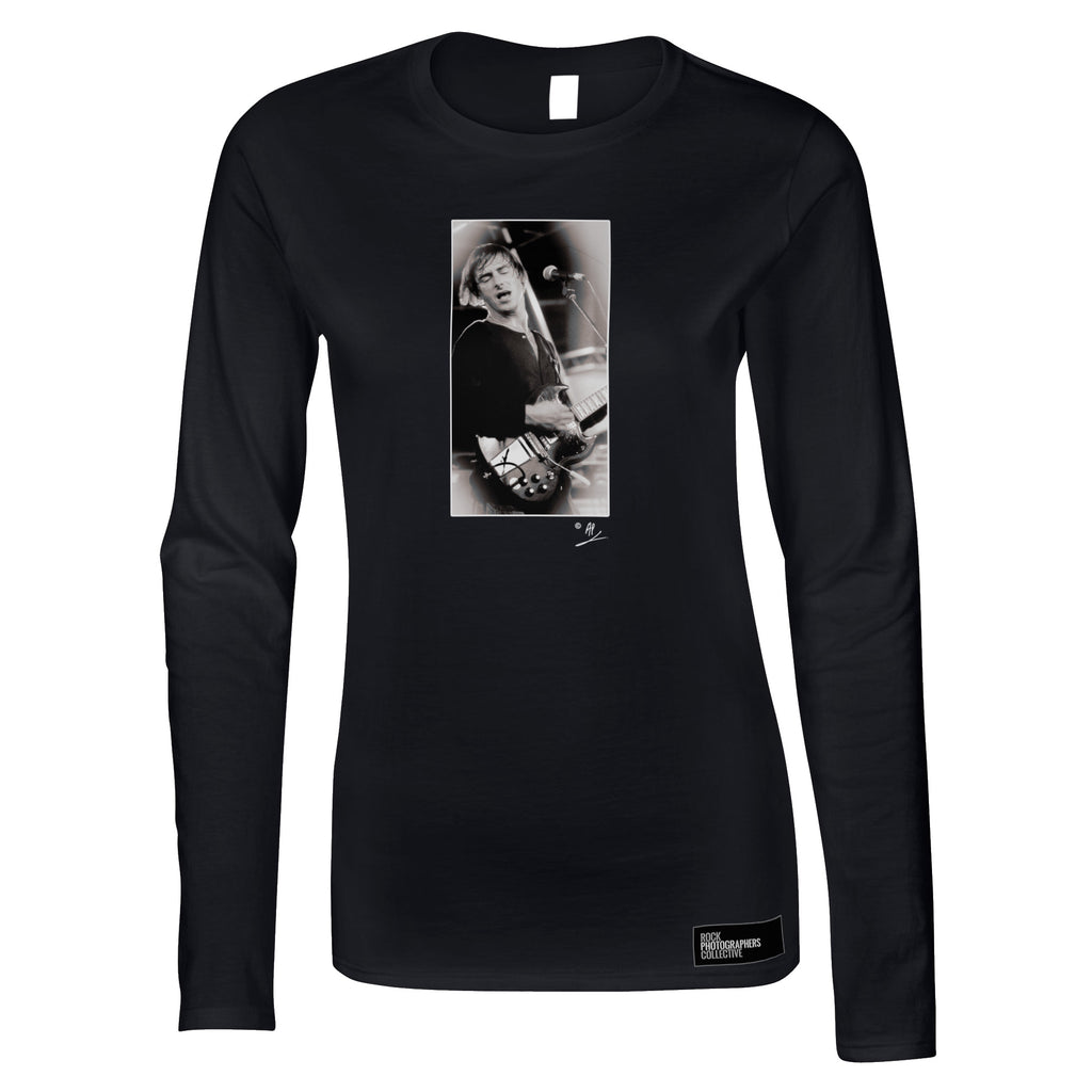 The Jam, Paul Weller, 1981, AP Women's Long Sleeve