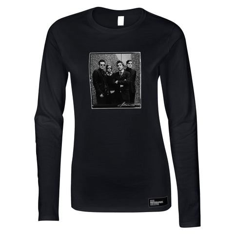 Interpol photographed in London, 2004, MRW Women's Long Sleeve
