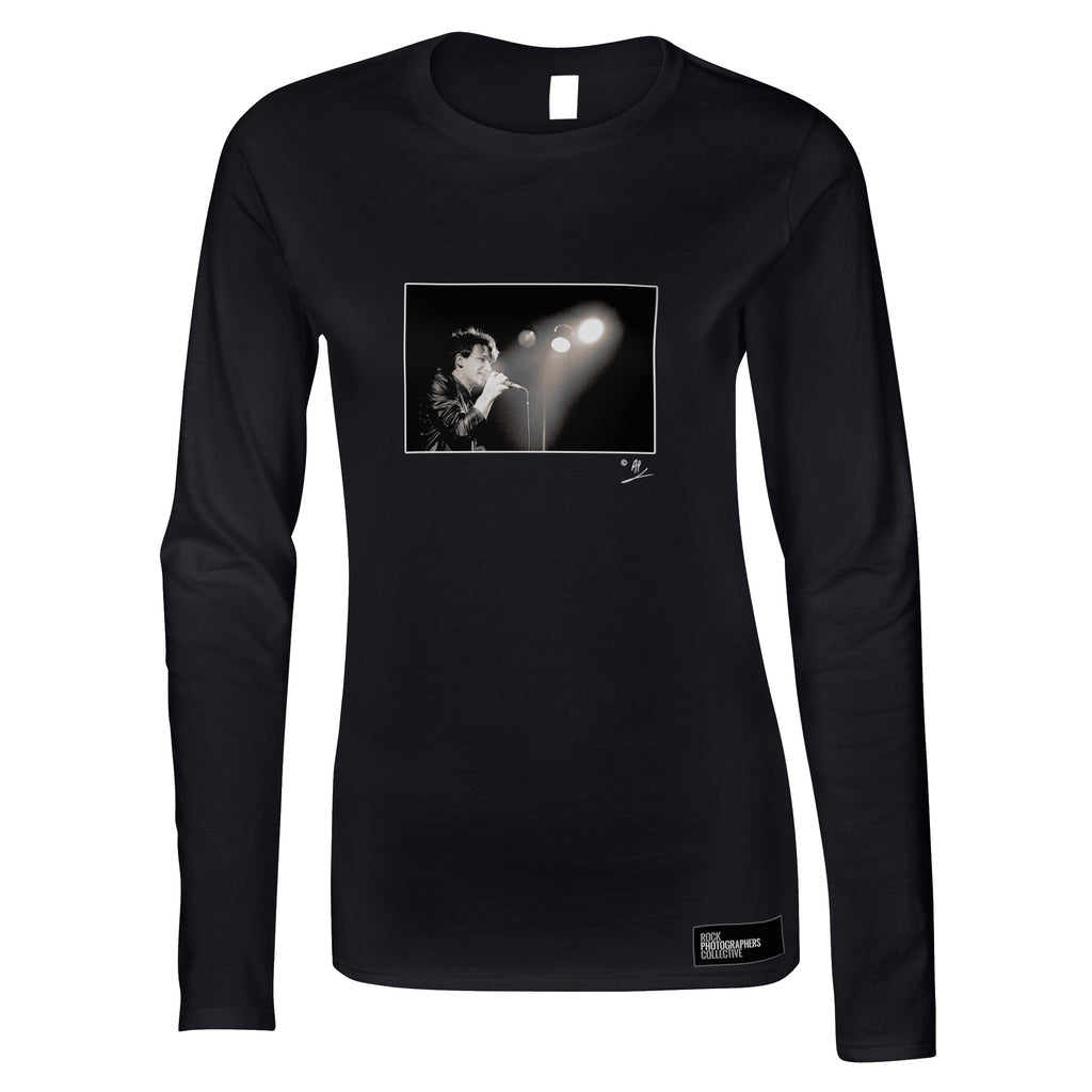 U2, Bono, live, 1980, AP Women's Long Sleeve