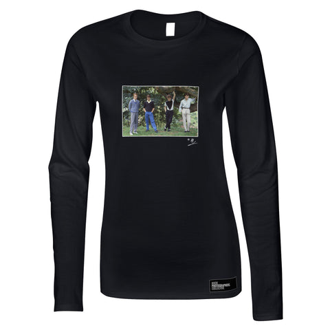 The Skids group location shot AP Women's Long Sleeve