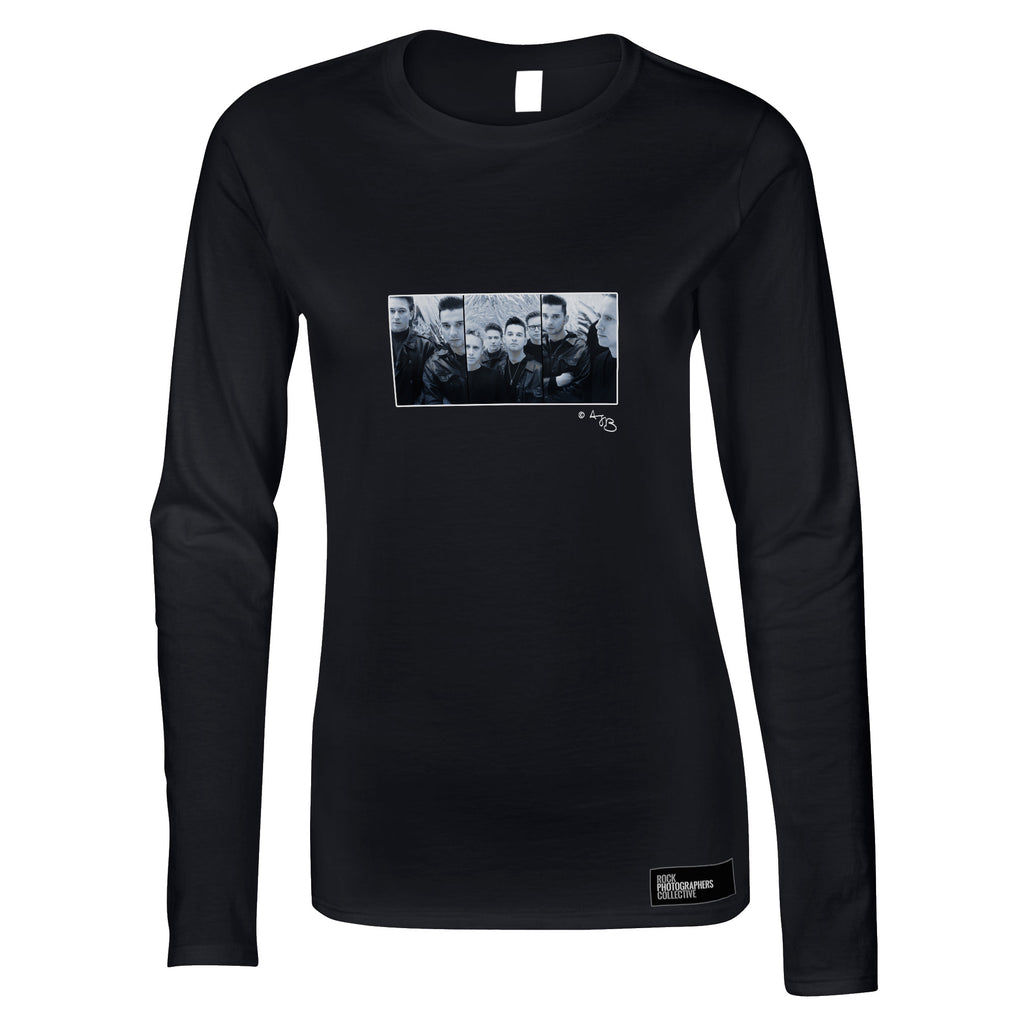 Depeche Mode, 1980's, TB Women's Long Sleeve