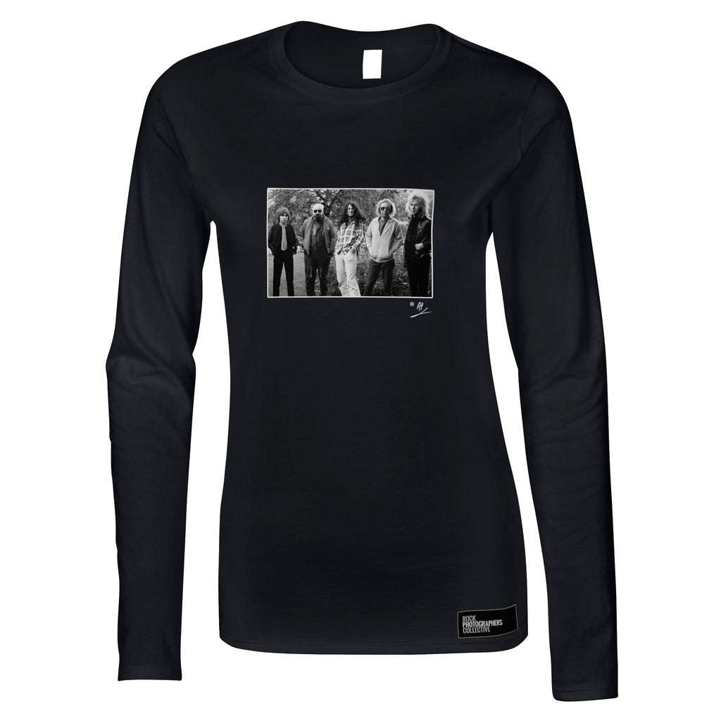 Gillan full band location portrait AP Women's Long Sleeve