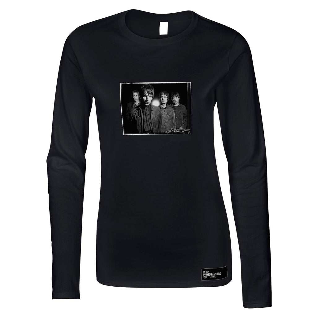 Oasis, studio shoot, London, 2008, MRW Women's Long Sleeve
