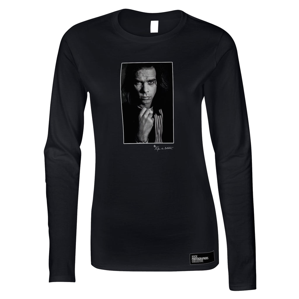 Nick Cave portrait (SdB) Women's Long Sleeve
