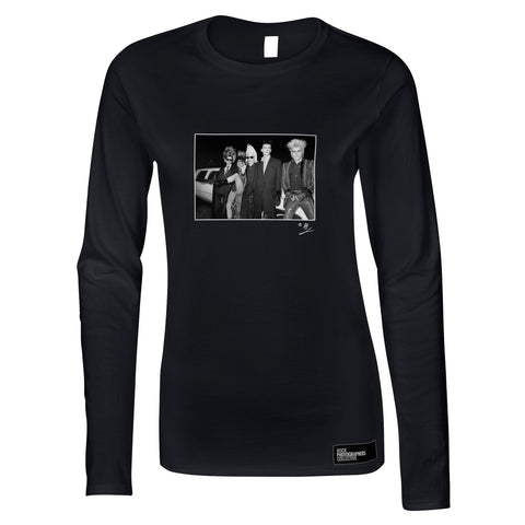 Sigue Sigue Sputnik b&w location shot AP Women's Long Sleeve