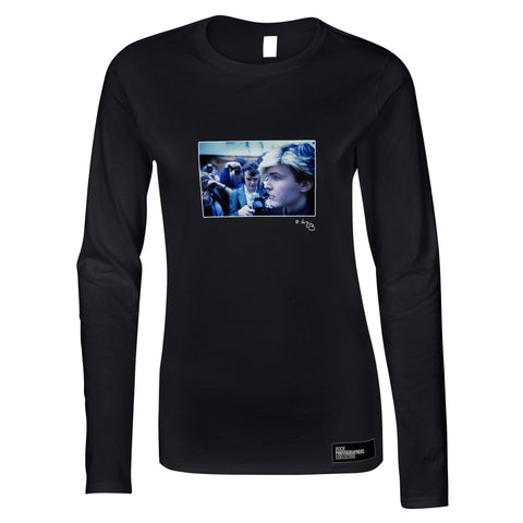David Sylvian, Japan, 1984, profile (AJB) Women's Long Sleeve