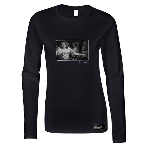 Robert Plant, London, 2002 (SdB) Women's Long Sleeve