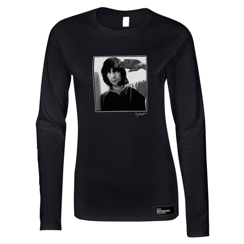 Bobby Gillespie, Primal Scream, 2009 (AC) Women's Long Sleeve.