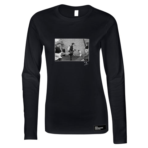 Bunnymen plus Anton Corbijn AP Women's Long Sleeve