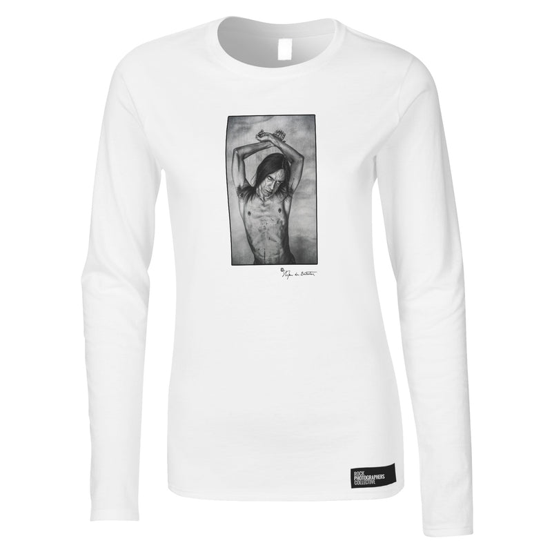 Iggy Pop, London, 1993 (SdB) Women's Long Sleeve