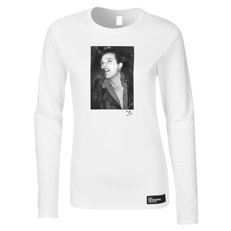 Dave Vanian of The Damned Women's Long Sleeve