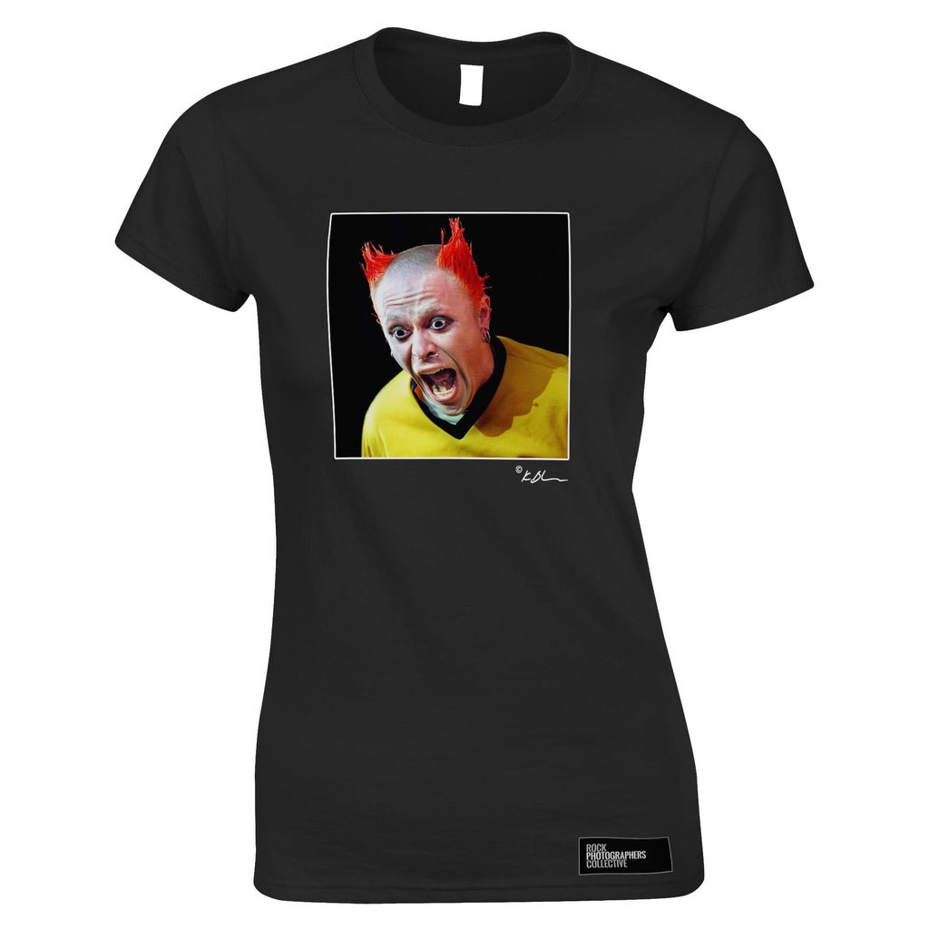 The Prodigy live - Keith Flint close up Women's T-Shirt