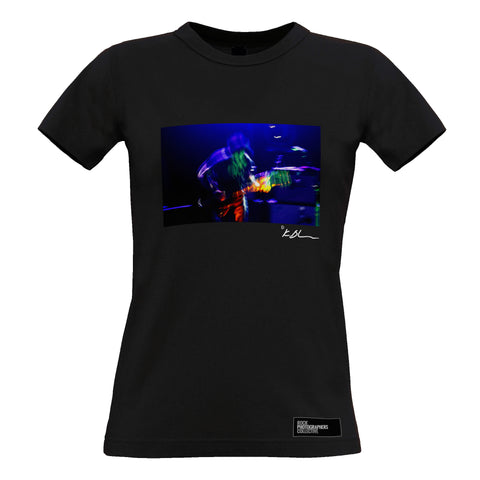 Ryan Adams live - motion blur Women's T-Shirt