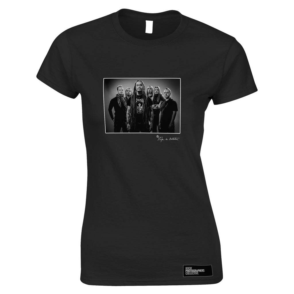 Amorphis, studio photo, Helsinki, 2011 (SdB) Women's T-Shirt