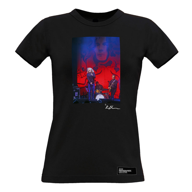 Robert Plant live with band Women's T-Shirt