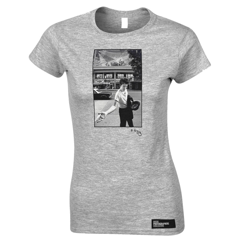 Tom Waits Women's T-Shirt On The Street