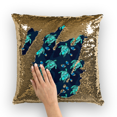 Test Sequin Cushion Cover