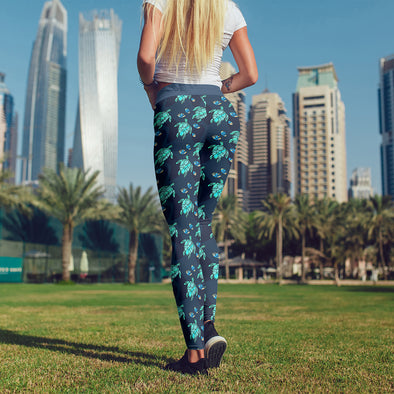 Turtle Love Premium Leggings | woodation.myshopify.com