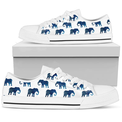 Watercolor Elephant Shoes