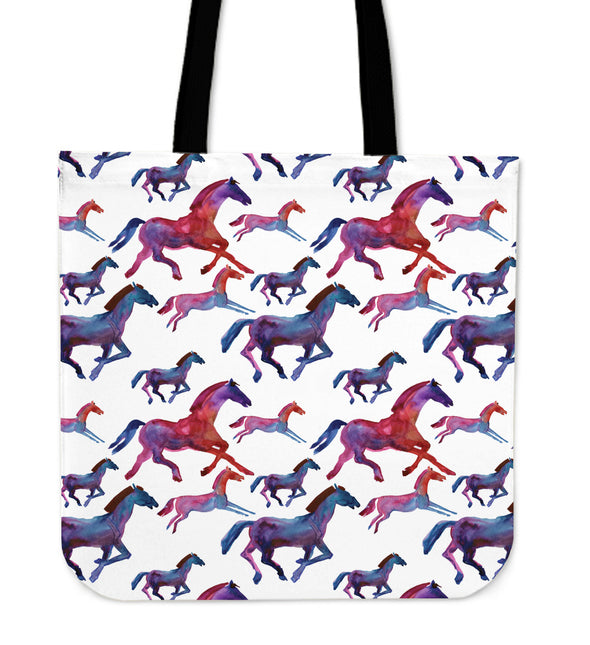 Horse Love Premium Tote Bag | woodation.myshopify.com