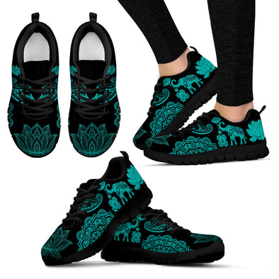Tiffany Blue Lotus Sneakers | woodation.myshopify.com