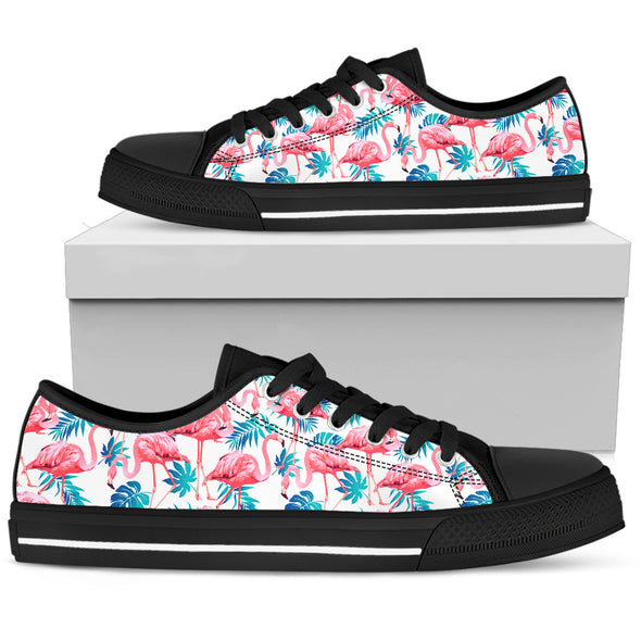 Flamingo Love Shoes | woodation.myshopify.com