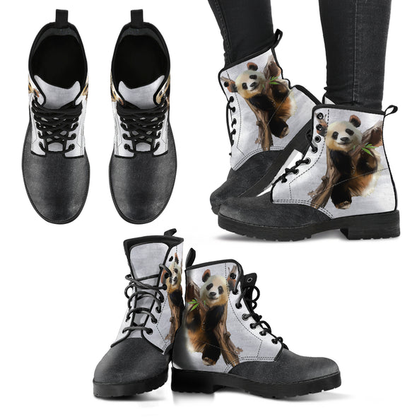 Panda Love Boots | woodation.myshopify.com