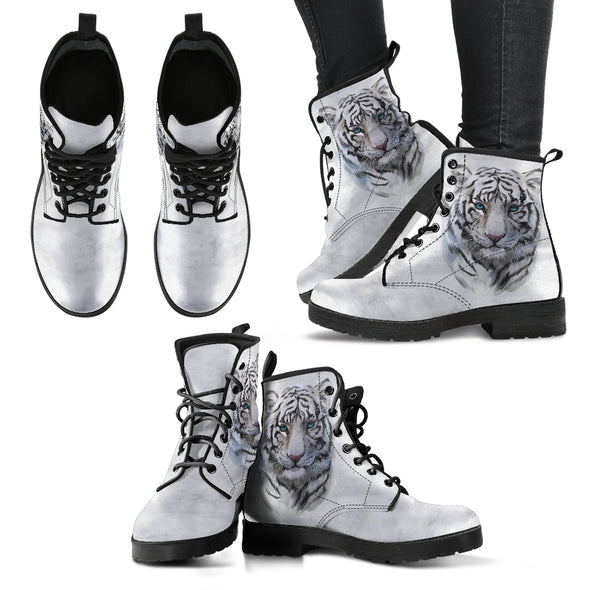 White Tiger Boots | woodation.myshopify.com