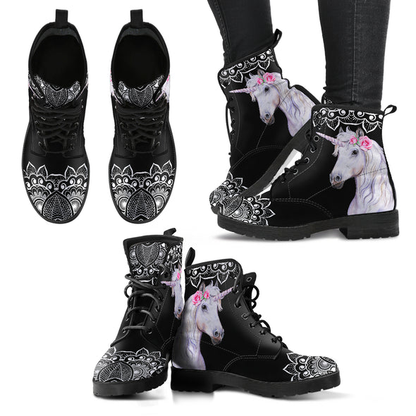 Mystical Unicorn Boots | woodation.myshopify.com