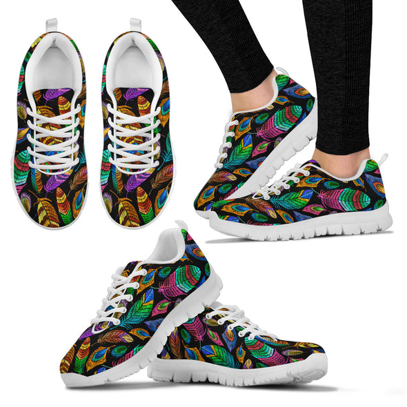 Bohemian Feather Sneakers | woodation.myshopify.com