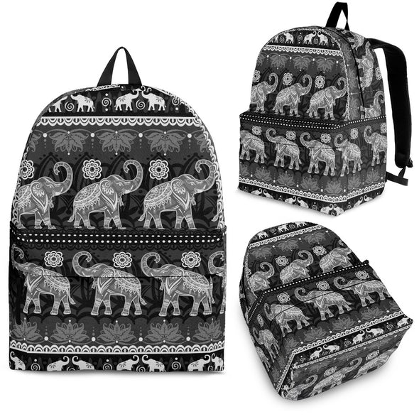 Elephant Mandala Backpack | woodation.myshopify.com