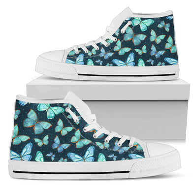 Butterfly Love High Top Shoes