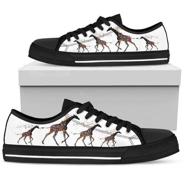 Giraffe Love Shoes | woodation.myshopify.com