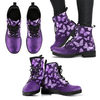 Mystical Butterfly Boots | woodation.myshopify.com
