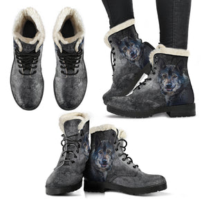 Wild Wolf Faux Fur Boots