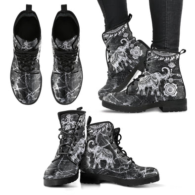 Elephant Marble Boots