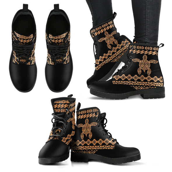 Tribal Turtle Boots