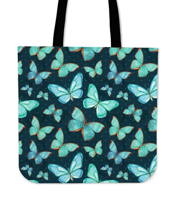 Spiritual Butterfly Premium Tote Bag | woodation.myshopify.com