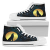 Wolf Love High-Top Shoes | woodation.myshopify.com