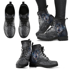 Wild Wolf Boots | woodation.myshopify.com