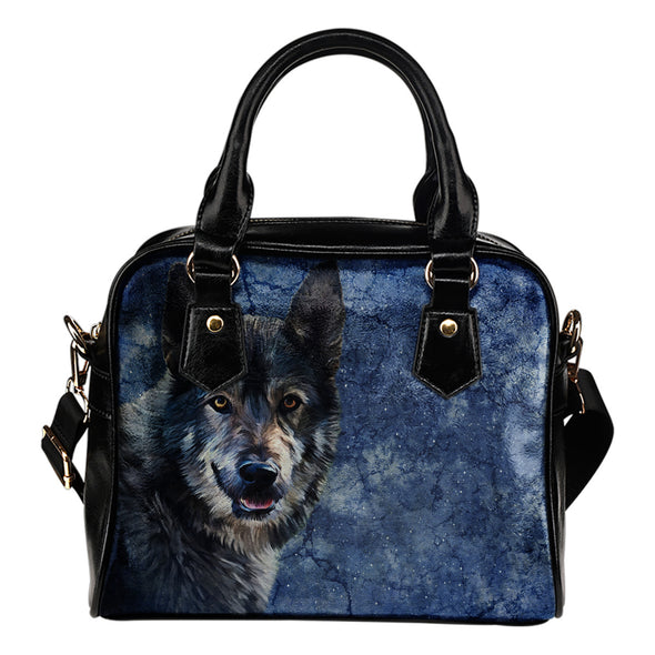Wild Wolf Shoulder Bag